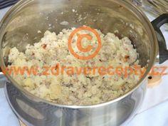 Detail receptu - Bramborová kaše s pohankou Oatmeal, Breakfast, Food, The Oatmeal, Morning Coffee, Meals, Yemek, Rolled Oats, Eten