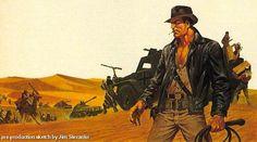 4 Indiana Jones concept drawings from comics stud Jim Steranko | Blastr