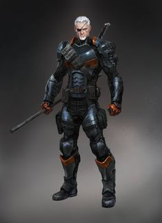 Hit the jump to check out some cool Batman: Arkham Origins character designs for Slade Wilson (AKA Deathstroke), Lady Shiva (AKA Sandra Woosan) and Killer Croc (AKA Waylon Jones).