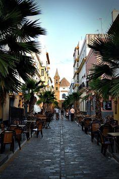 Barrio de La Viña, Cádiz, Spain