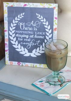 Crafting Archives - Page 14 of 21 - Atta Girl Says Printable Banner, Printable Wall Art, Free Printables, International Delight Iced Coffee, Create An Animal, Jane Austen Quotes, Chalkboard Signs, Chalkboards, Do It Yourself Projects