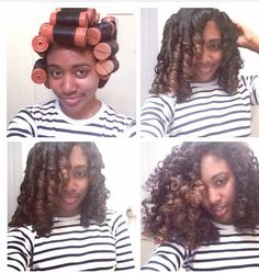 Perm rod set. Don't know what size you want for your curls? Go to this website and it will show you what type of curl each color perm rod makes.
