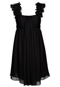 Frock and Frill Black Vanity Fair Dress