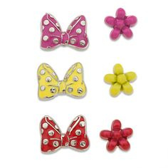 Minnie Mouse Push Pins Set