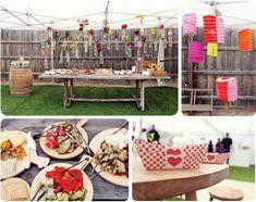 Hello My Dear Blog: Pretty Party: BBQ Engagement