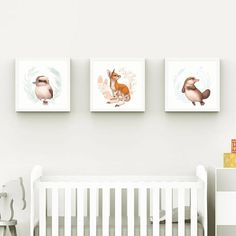 Nursery Wall Art Nursery Decor Australian animals Baby