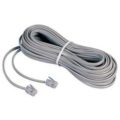 AT&T 92022 50 Foot Flat Line Cord - Dove Grey by AT&T. $9.99. - AT&T 50 foot flat line cord- 4 Conductor- Modular male termination at each end- Dove grayATT89006500