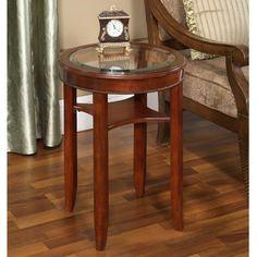 All Things Cedar Glass End Table - HR34