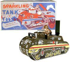 1951 Marx, Sparkling Tank (Factory Sample)