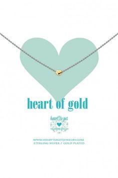 Heart to Get ketting Heart N10HEG11S | JewelandWatch.com