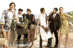 Love the layouts for this campaign dolce gabbana spring summer campaign 2 More Photos of Dolce & Gabbanas Spring/Summer 2014 Ads
