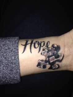 Autism tattoo / autism ink