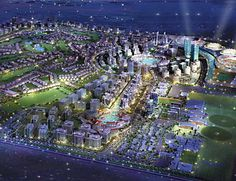 3-billion-square-foot theme-park-like development known as Dubailand, Sports City will offer visitors a staggering variety of athletic venues, from elegant, gigantic stadia to state-of-the-art participatory parks for skateboarding, indoor rock climbing, and other activities. Not to mention facilities for polo, car racing, golf, and extreme sports. The stadia are designed by German architects von Gerkan, Marg & Partners, the firm behind the graceful 2004 update of Berlin's 1936 Olympic…