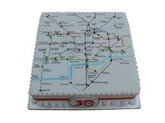 MMM tasty london underground map - Google Search Map Cake, Underground Map, Mind The Gap, Happy Birthday, Birthday Cake, Cake Ideas, Cake Decorating, Jade