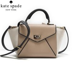 Authentic Kate Spade Crossbody Kate Spade Authentic..Small Crossbody (color:Creme,brown,black,)No Trades. kate spade Bags Crossbody Bags