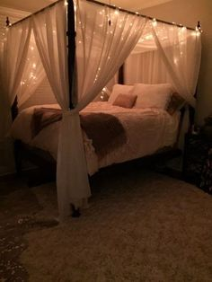 Creative ways unique cozy decor ideas with bedroom string lights 41 fugar.se Cozy Bedroom Ideas Bedroom cozy creative Decor fugarse Ideas lights String Unique Ways Bedroom Decor For Teen Girls, Room Ideas Bedroom, Teen Room Decor, Home Bedroom, Modern Bedroom, Contemporary Bedroom, Bedroom Small, Bedroom Brown, Trendy Bedroom