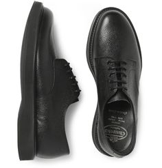 Church's Leyton Pebble-Grain Leather Derby Shoes