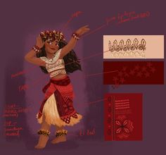 Here's Your First Look at Moana Costume Concept Art | [ http://di.sn/6006BfgRM ]