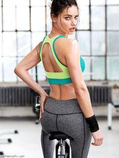 Adriana Lima for Victoria's Secret VSX collection. #vsx #adrianalima