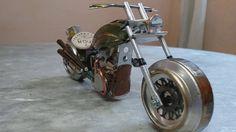 Edson Galvão - Moto feita de Latinha
