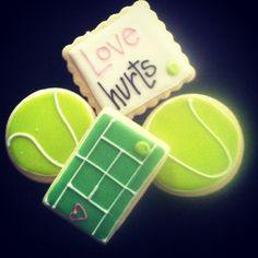 #tennis cookies