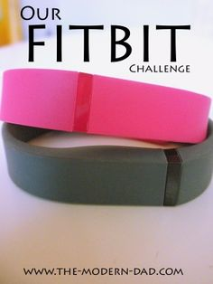 Our Fitbit Challenge #themoderndad #healthy #freeprintable #fitbit #challenge