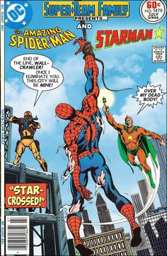 Super-Team Family: The Lost Issues!: Spider-Man and Starman