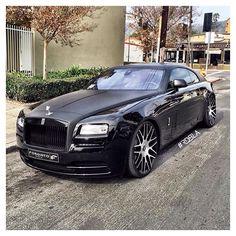 Rolls-Royce Wraith customized by @rdbla