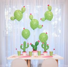 Stuck on You!   a cactus inspired party   The Creative Heart Studio - A DIY and Party Inspiration Blog
