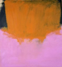 Untitled by Larry Bell, 1960.  Love this painting so much