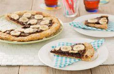 Houd je van zoet? Maak dan dit recept voor een chocolade pizza!