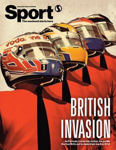 Sport magazine - Issue 297 - Cover illustration by Tavis Coburn.