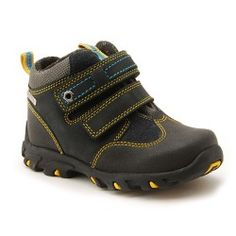 Navy Blue/Yellow Leather Children's Boots For Boys Warm Winter Boots, Winter Shoes, Blue Yellow, Navy Blue, Yellow Leather, Kids Boots, Childrens Shoes, Boys Shoes, Chelsea Boots