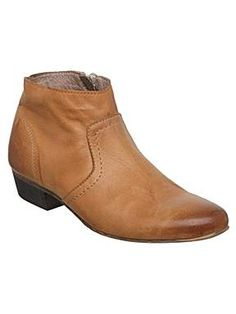 Bertie Pilgrim simple low boots - House of Fraser