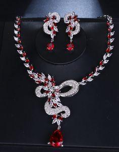 Set bijuteii nasa cu Swarovski Elements rosii Nasa, Crochet Necklace, Swarovski, Women Jewelry, Jewellery, Accessories, Fashion, Moda, Jewels