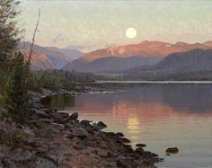 Moonrise at Lake Dillion - Jay Moore Studio | Jay Moore Studio