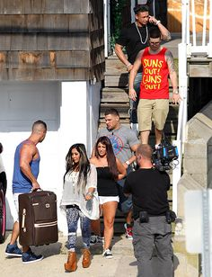 Jersey Shore Cast Returns to Seaside Heights Home to Tape Season 6