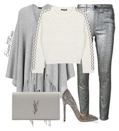 Untitled #567 by irunaftergucci on Polyvore featuring polyvore fashion style Alexander McQueen Joseph Isabel Marant Christian Louboutin Yves Saint Laurent clothing