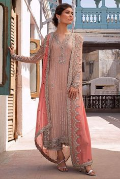 Wedding Wear, Wedding Dresses, Eastern Dresses, Semi Formal Dresses, Pakistani Bridal Dresses, Desi Clothes, Pink Fabric, Indian Wear, Indian Fashion