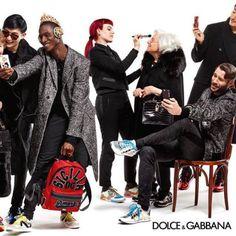 MAJOR MODEL MANAGEMENT Adonis B. Para a campanha mundial de Dolce & Gabbana