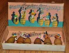 Rag Time Band from secollectibles on Ruby Lane