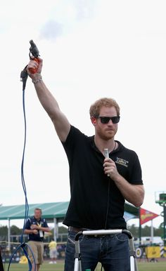 Pin for Later: Prince Harry Had an Absolute Ball at the Invictus Games