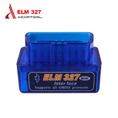 Professional Super MINI ELM327 Bluetooth Scanner V2.1 Work Android Torque Wireless Interface Auto CAN-BUS ELM 327 Supports OBDII