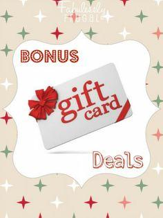 Bonus Gift Card Deals
