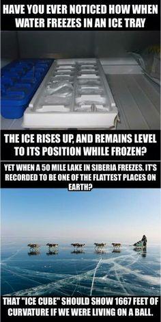 the earth is flat?? lol lol lol.