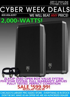 Best DJ Speakers Deals here to sale at Best Price.
