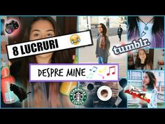 Primul Video: Lucruri despre mine - YouTube Check this thing ooooout ✌