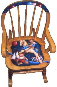 hand painted chair - Google Search