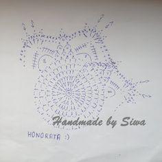 Risultati immagini per schematy bombek by siwa Crochet Christmas Decorations, Crochet Decoration, Christmas Crochet Patterns, Holiday Crochet, Christmas Baubles, Crochet Ball, Crochet Doll Dress, Easter Crochet, Hand Crochet