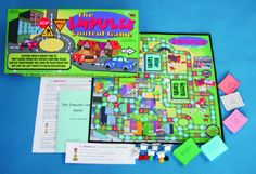 The Impulse Control Game- Is an educational and therapeutic board game designed to help children with ADD, ADHD, and conditions involving impulse control problems. Learning to stop and think is a good start, but effective control of impulses requires the acquisition of specific skills. The game teaches seven specific skills that have been proven in the research literature to help impulsive children control their impulses, make good decisions, and avoid actions that could be detrimental.
